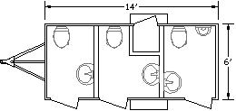 MT III Restroom Layout