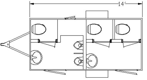 MT IV Restroom Layout